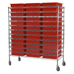 Modular shelving unit / for containers AKRO-GRID Akro-Mils