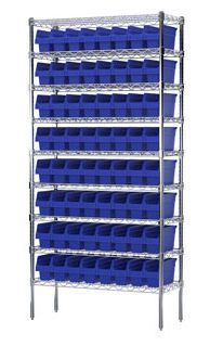 Container shelving unit SHELFMAX® Akro-Mils
