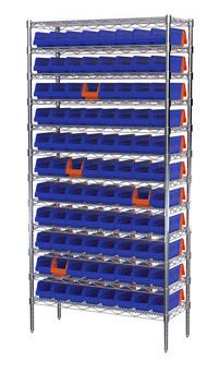 Container shelving unit INDICATOR® BIN Akro-Mils