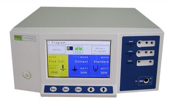 "Monopolar coagulation HF electrosurgical unit / bipolar coagulation / monopolar cutting / bipolar cutting 7"" TFT   DOCTANZ Touch Beful"