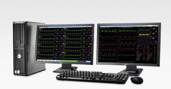 Patient central monitoring station / 64-bed PM-2000 Biocare