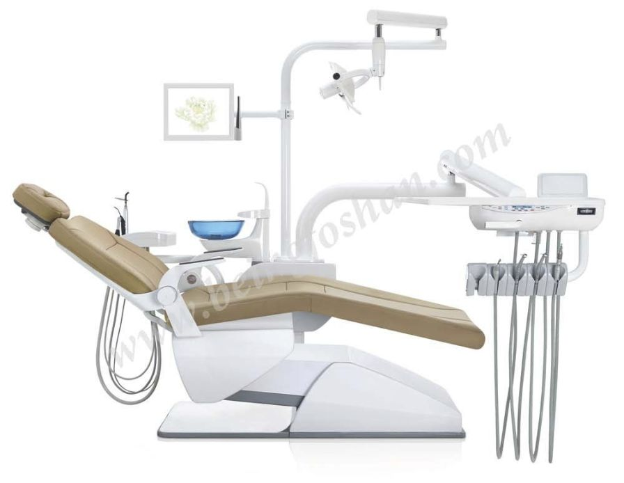 Dental treatment unit with motor-driven chair PEONY 2300B BEING FOSHAN MEDICAL EQUIPMENT
