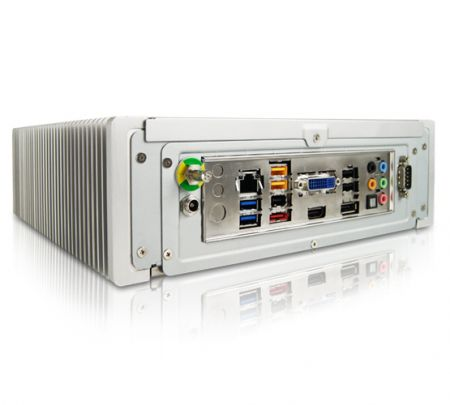 Fanless medical box PC Intel® Core™ i3-3220T, 2.8 Ghz | e-medic™ Silence ST-M i3 Baaske Medical