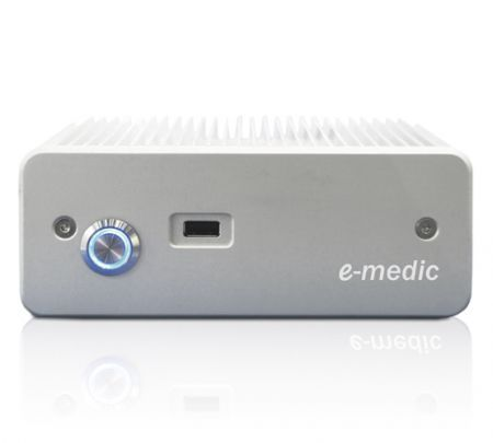 Fanless medical box PC Intel® Celeron® 847, 1.1 Ghz | e-medic™ Silence XT-M Celeron Baaske Medical
