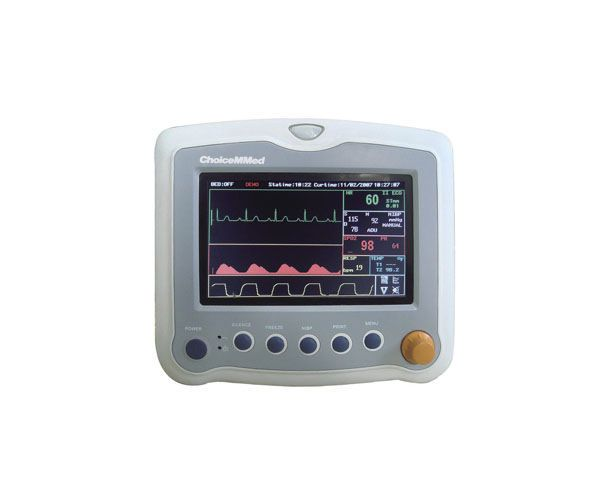 """Compact multi-parameter monitor / transport / wireless 7"""" TFT 