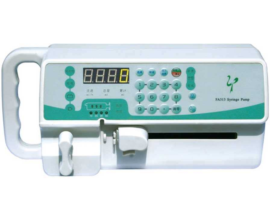 1 channel syringe pump 0.1 - 400 mL/h - FA313 Beijing Xin He Feng Medical Technology