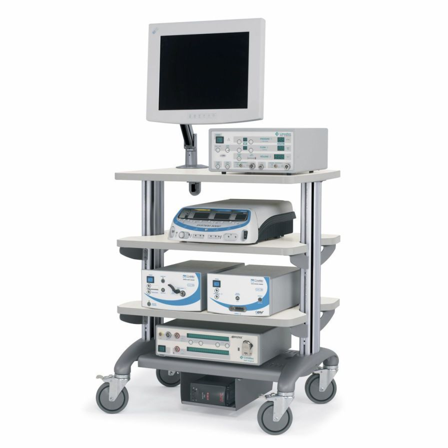 Medical computer cart Convoi Anthro Corporation