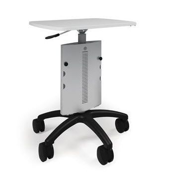 Height-adjustable computer cart / medical POC Anthro Corporation
