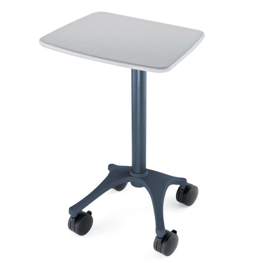 Height-adjustable computer cart / medical Zido 22W 31H Anthro Corporation