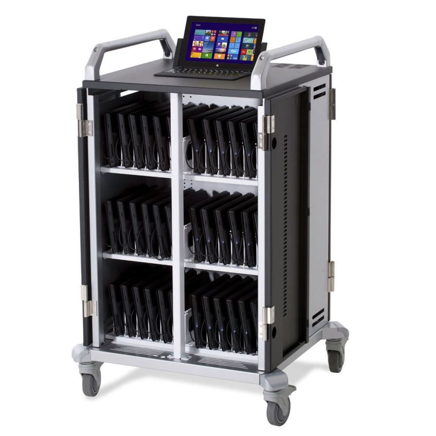 Medical computer cart / battery-powered Surface Pro Anthro Corporation