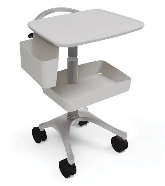 Multi-function trolley / medical device / open-structure / height-adjustable Zido EKG Anthro Corporation
