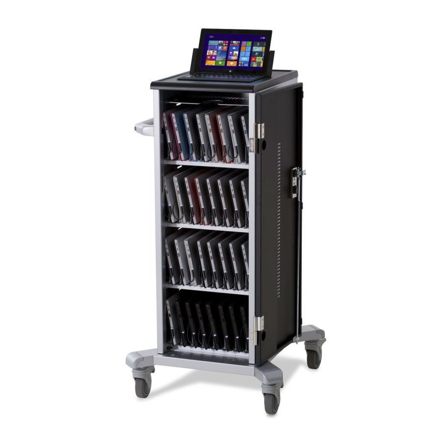 Medical computer cart / battery-powered Surface Anthro Corporation