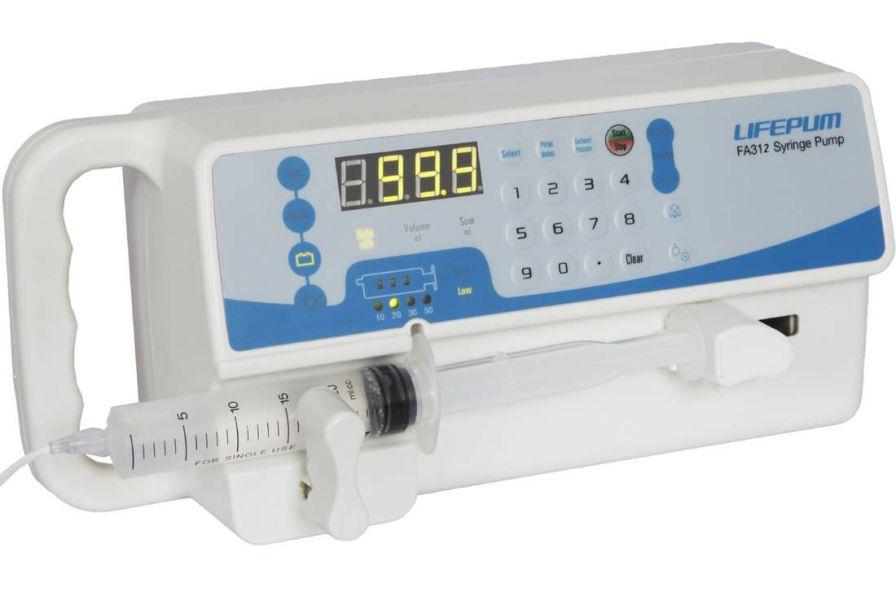 Ambulatory syringe pump / 1 channel 0.1 - 200 mL/h | FA312 Beijing Xin He Feng Medical Technology Co. Ltd.