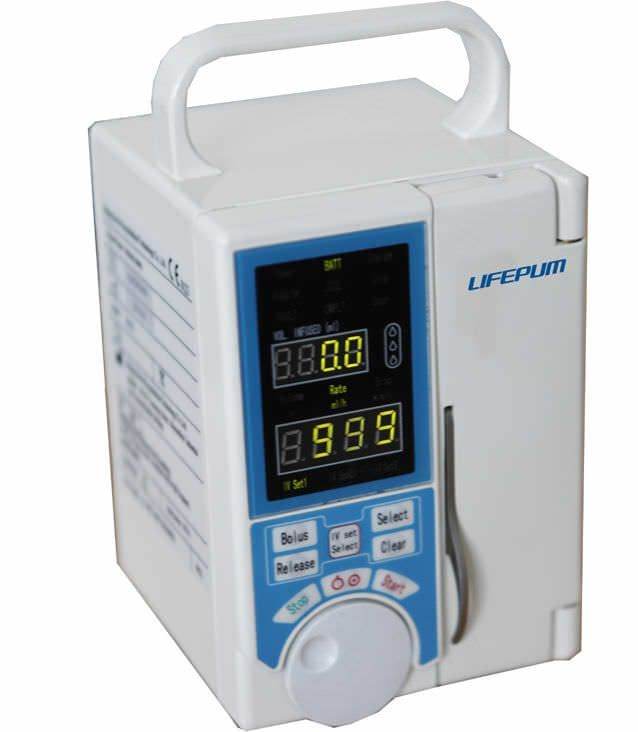 Volumetric infusion pump / 1 channel 1 - 1000 mL/h | SA212 Beijing Xin He Feng Medical Technology Co. Ltd.