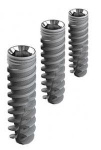 Cylindrical dental implant / titanium / internal hexagon / self-drilling 3 - 5 mm ø   Touareg CloseFit™ ADIN Dental Implant Systems Ltd.