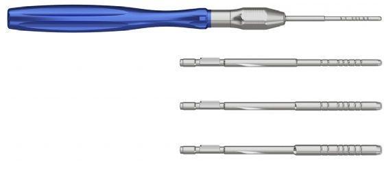 Dental osteotome HA00 series ADIN Dental Implant Systems Ltd.
