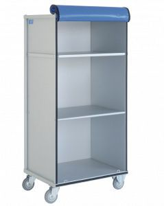 Clean linen trolley / 2-shelf 2300 CR Alvi