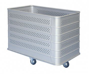 Dirty linen trolley / with large compartment BA 20 Alvi