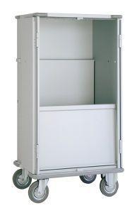 Clean linen trolley / dirty linen / 1-door / with door 3020 CR Alvi