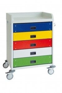 Multi-function trolley / with drawer 3957 CR Alvi