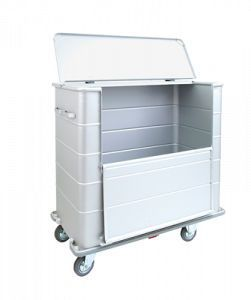 Waste trolley / dirty linen / with large compartment 4500 CR Alvi