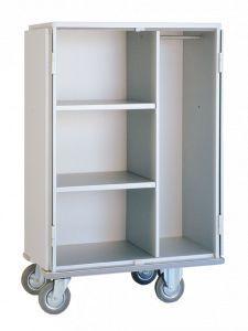 Clean linen trolley / with shelf / 2-door 1580 CR Alvi