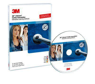 Education software / cardiac auscultation 3M™ Littmann® Cardiac Auscultation Interactive Learning 3M Littmann Stethoscopes