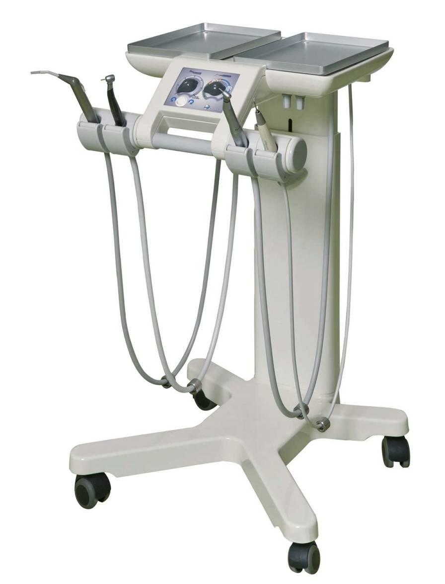Mobile dental delivery system CART PE8 AIREL - QUETIN