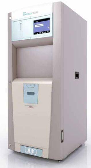 Medical sterilizer / hydrogen peroxyde / front-loading / low-temperature 18 ... 35 °C   STERRAD® 100NX® ASP Advanced Sterilization Products