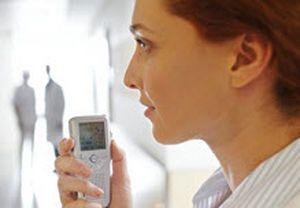 Digital dictation system mobile Asdon