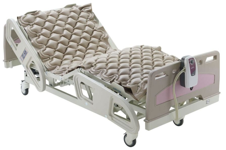 Hospital bed mattress / anti-decubitus / dynamic air / honeycomb DOMUS 1 Apex Medical