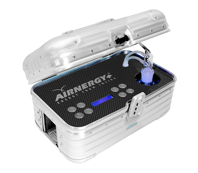 Portable oxygen therapy system AIRNERGY Travel Plus Airnergy