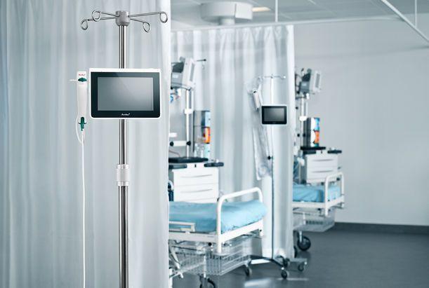 Endoscopy display / touch screen / portable aView™ Ambu
