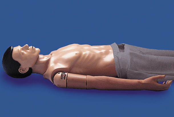 Intravenous injection training simulator Ambu® I.V. Ambu