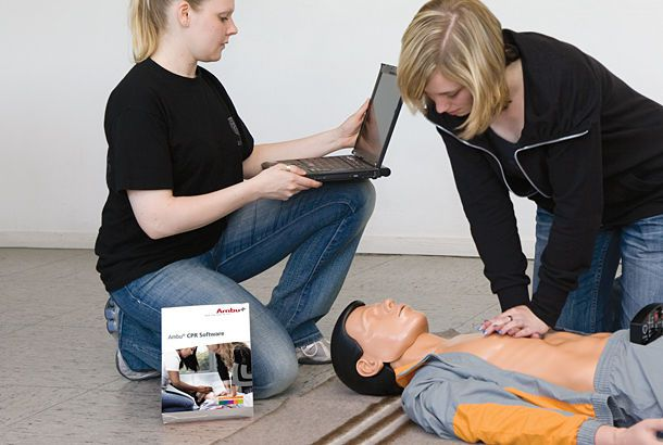 Training software / CPR Ambu® Ambu