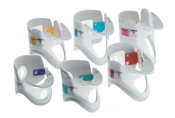 Fixed-size emergency cervical collar / with tracheal opening / 1-piece Ambu® Perfit Ambu