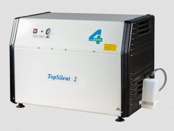 Medical compressor / for dental units / piston / 2-workstation 7 bar | TOP2 4TEK SRL