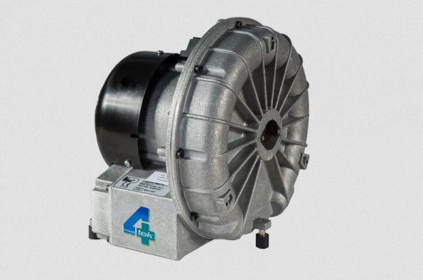 Aspirating vacuum pump / dental / 1-workstation A001/L 4TEK SRL