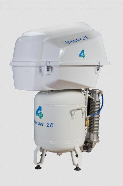 Medical compressor / for dental units / piston / 4-workstation 7 bar | MONSTER2 4TEK SRL