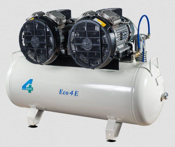 Medical compressor / for dental units / piston / 5-workstation 7 bar | ECO4/E 4TEK SRL