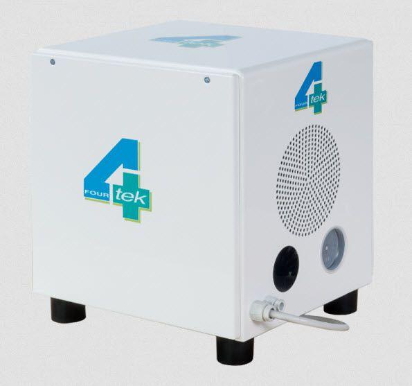 Aspirating vacuum pump / dental / 1-workstation A004 4TEK SRL