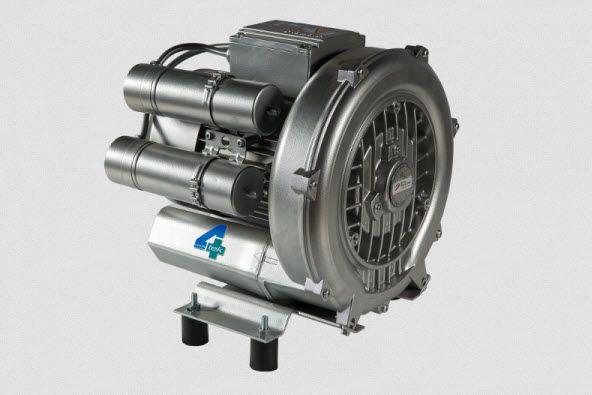 Aspirating vacuum pump / dental / 1-workstation A001 4TEK SRL