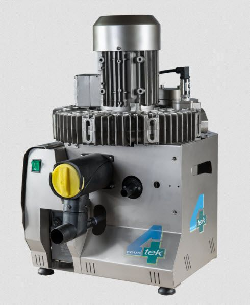 Aspirating vacuum pump / dental / 3-workstation RAIN3+ 4TEK SRL