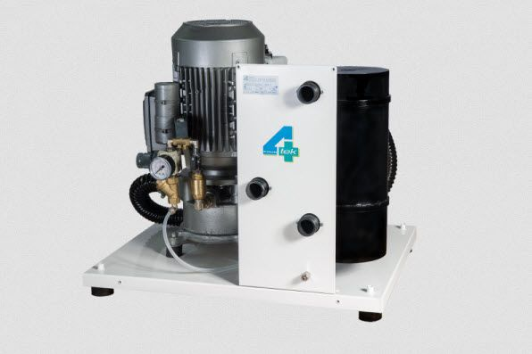 Aspirating vacuum pump / dental / 4-workstation P001/TB 4TEK SRL