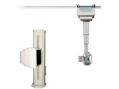 Potter-Bucky with flat panel detector TUBE STAND Angell technology