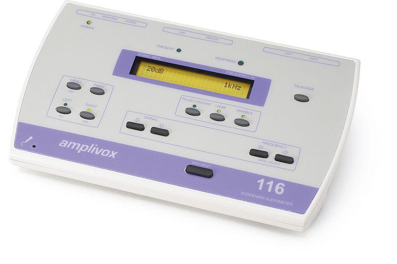 Audiometer (audiometry) / screening audiometer / digital MODEL 116 Amplivox Ltd