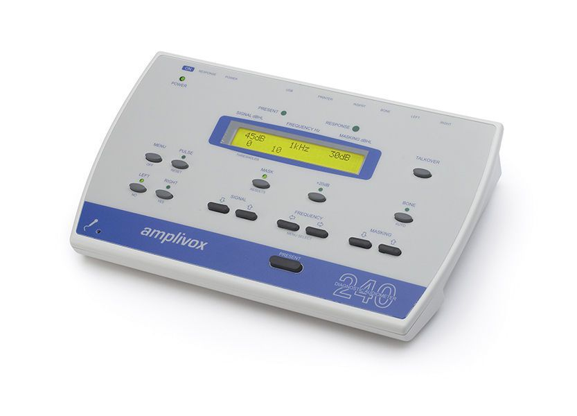 Diagnostic audiometer (audiometry) / audiometer / digital MODEL 240 Amplivox Ltd