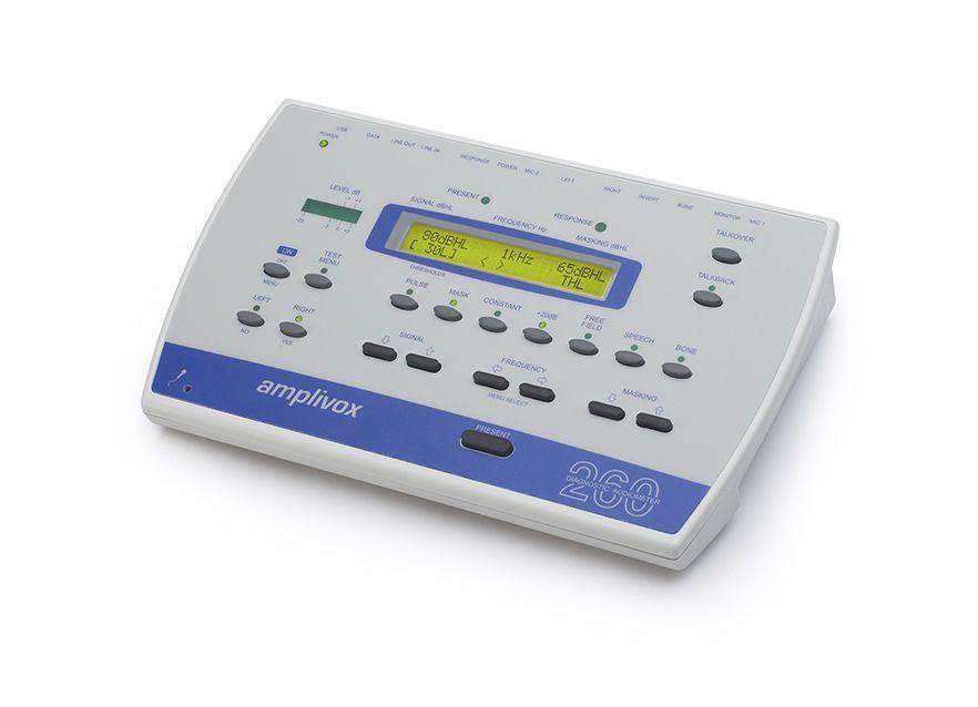 Diagnostic audiometer (audiometry) / audiometer / digital MODEL 260 Amplivox Ltd