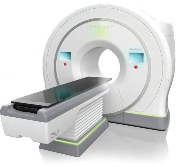 X-ray scanner (tomography) with linear particle accelerator / X-ray scanner / full body tomography / cylindrical TomoTherapy® H™ Series ACCURAY