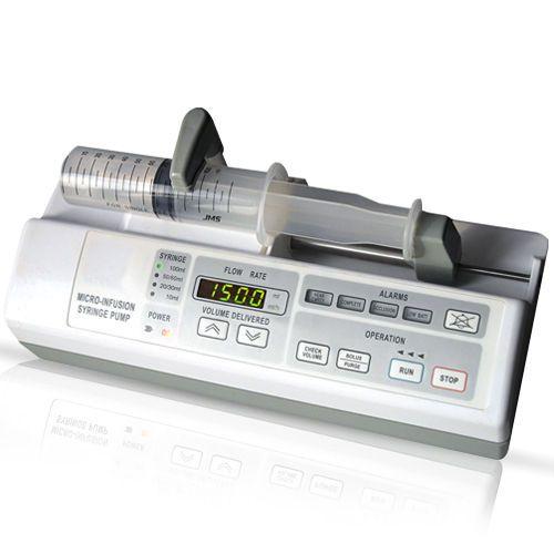 1 channel syringe pump 0.1-300 mL/h | AJ 5803 Angel Canada Enterprises